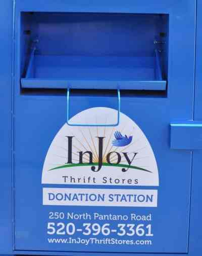 InJoy Thrift Store Drop Boxes in Tucson