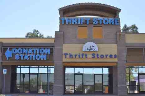 InJoy Thrift Store in Tucson Arizona