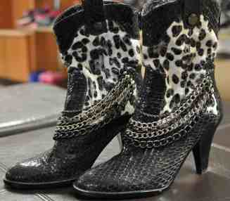 women's boots at InJoy Thrift Store