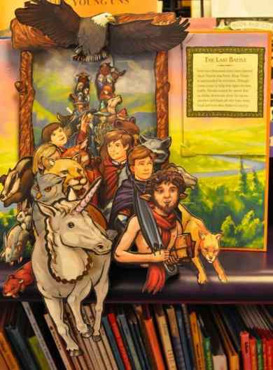 Chronicles of Narnia pop-up book at Bookmans