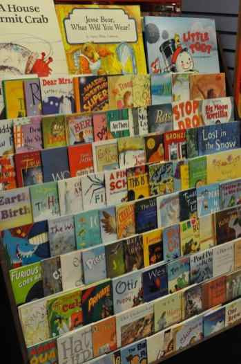 children's picture books at Bookmans