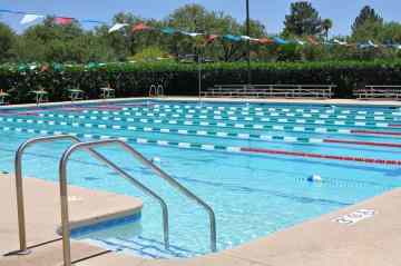 lap pool at Tucson Country Club