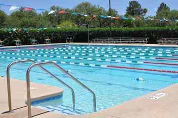 lap pool at Tucson Country Club