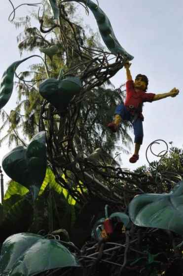 Jack and the Beanstalk at LEGOLAND