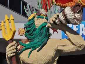 King Triton at LEGOLAND California