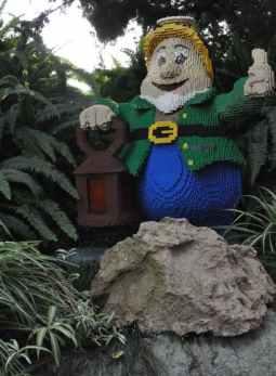 LEGO dawrf at LEGOLAND California