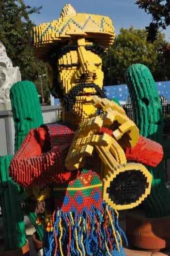 Mexican Musician at LEGOLAND California