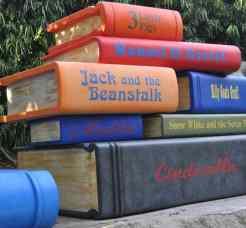 big books at LEGOLAND California