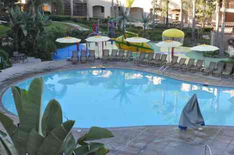pool and splash pad at Grand Pacific Palisades