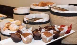 pastries at Blues Brews BBQ at Loews Ventana Canyon