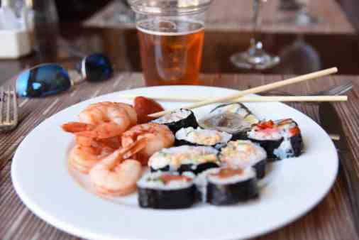 seafood at Blues Brews BBQ at Loews Ventana Canyon