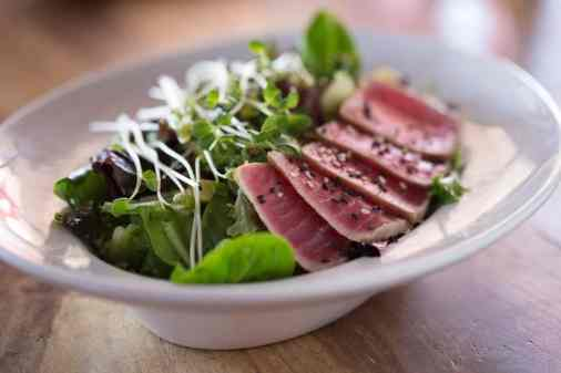 Ahi Salad at The Living Room