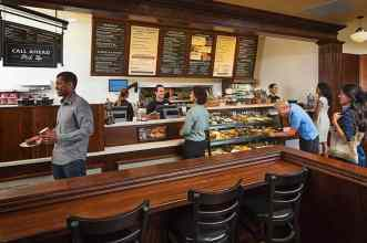Corner Bakery Cafe Counter