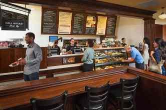 Corner Bakery Cafe Counter