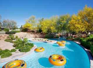 The Westin Kierland Lazy River - floating tubes