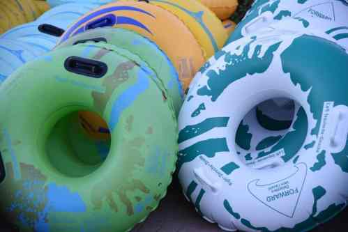 pick your tube color at Westin Kierland Resort