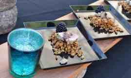 menu samplings at Savor Food & Wine Festival
