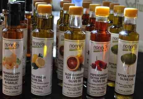 nonna's extra virgin olive oil at Savor Food & Wine Festival