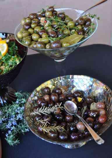 olives at savor food and wine festival