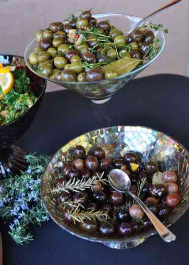 olives at savor food and wine festival