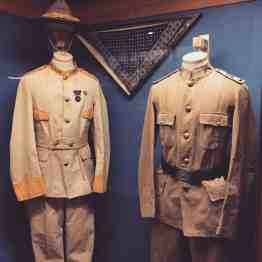uniforms at Museum of the Horse Soldier