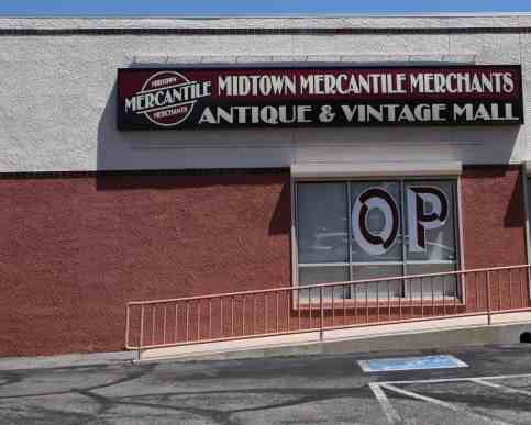 Midtown Mercantile Merchants Antique Vintage Mall Tucson