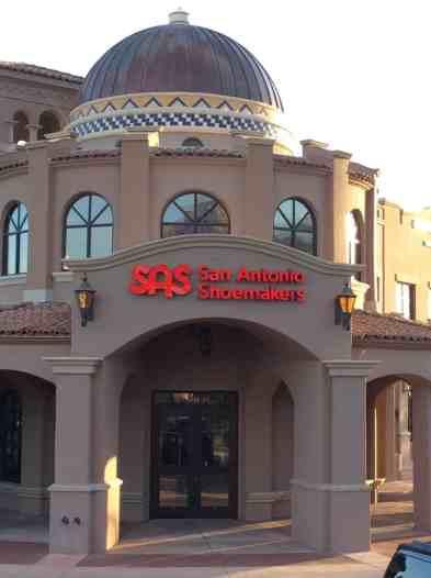 San Antonio Shoemakers Exterior Tucson