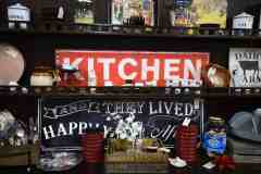 kitchen signs decor at Midtown Mercantile Merchants