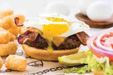 Sunrise Burger at Topgolf