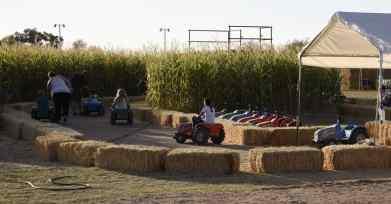 Car Ride at Marana Pumpkin Patch & Farm Festival