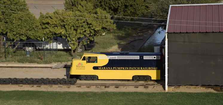 Marana Pumpkin Patch Railroad