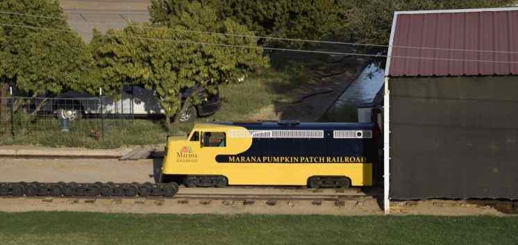 Marana Pumpkin Patch Railroad