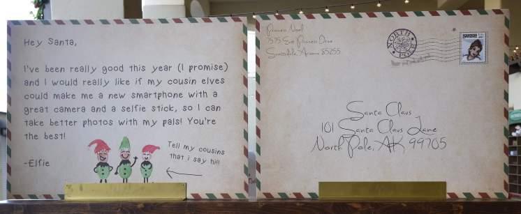 Letters to Santa Christmas at the Princess