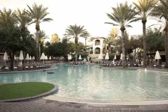 beach entry pool Fairmont Scottsdale Princess