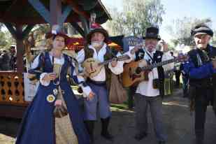 Band at Arizona Renaissance Festival