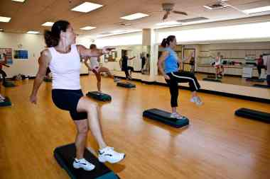 fitness classes at Ott Family YMCA