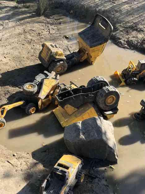 mud trucks Adventure Playground Irvine