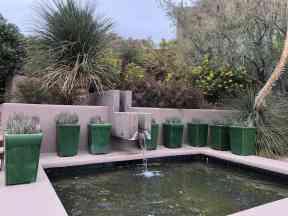 pots fountain four seasons scottsdale