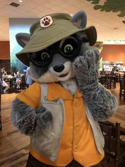Oliver Character Breakfast Great Wolf Lodge
