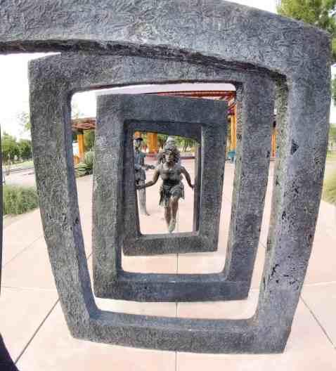 Art Sculpture Reid Park