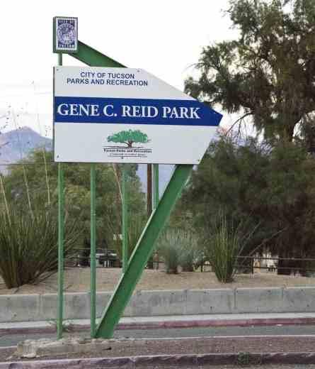 Gene C Reid Park Tucson