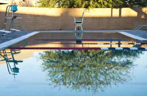 diving board Clements Pool Tucson