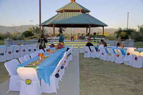 party wedding rentals Lincoln Regional Park Tucson