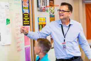 John Gross teacher Casas Christian School