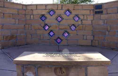 Purple Heart Park stones veterans
