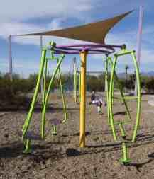 gyro spinner Purple Heart Park