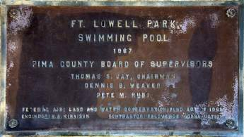 Ft Lowell Park Swimming Pool