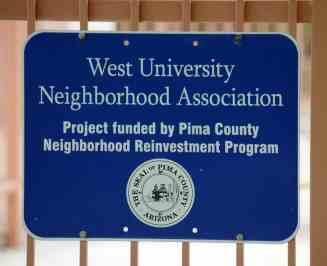 West University Neighborhood Association Catalina Park