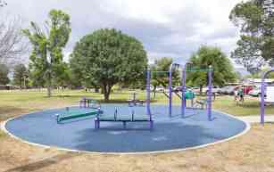 exercise equipment La Madera Park