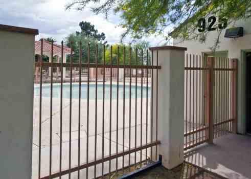 splash pad fence Catalina Park